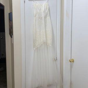 BCBG Bridal Dress Off White